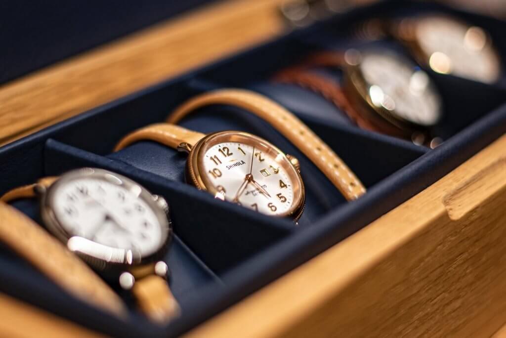 Lagerung Uhren Geldanlage